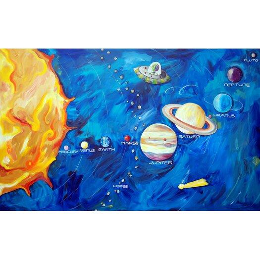 Cici Art Factory Solar System Canvas Art