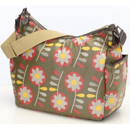 OiOi Retro Hobo Diaper Bag