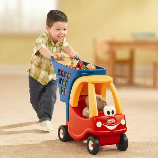 Little Tikes Cozy Coupe Shopping Cart Ride-On II