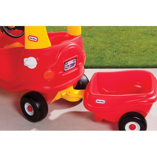 Little Tikes Cozy Coupe Push Car with Trailer