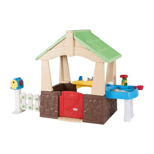 Little Tikes Deluxe Home And Garden Playhouse Allmodern