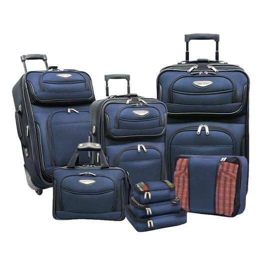 Traveler's Choice Amsterdam 8 Piece Luggage Set