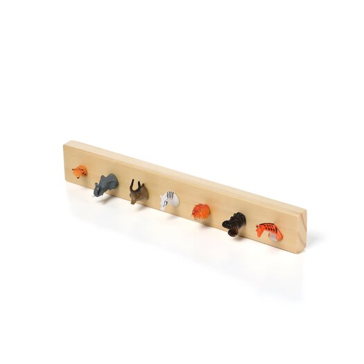 Kikkerland Pack Rack Wall Mounted Jewelry Holder