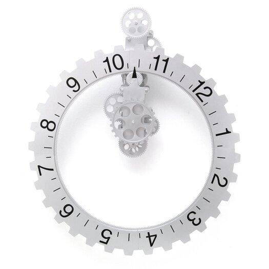 Oversized Big Wheel Hour Wall Clock