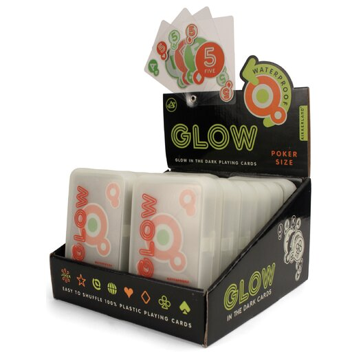 Kikkerland Glow-in-the-Dark Playing Cards