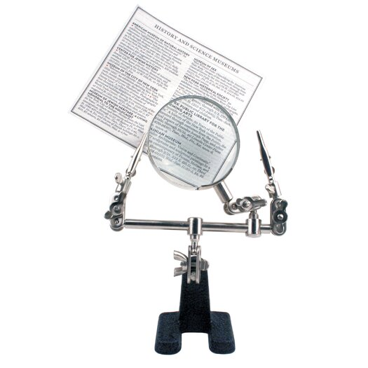 Kikkerland Little Helper Magnifying Glass with Weighted Base