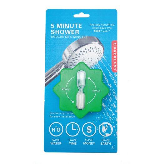 Kikkerland 5 Minute Shower