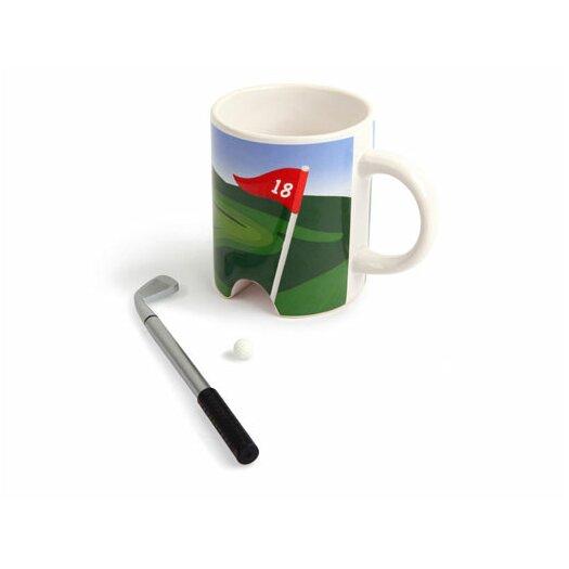 Kikkerland 3 Piece 10 Oz. Putter Cup Set