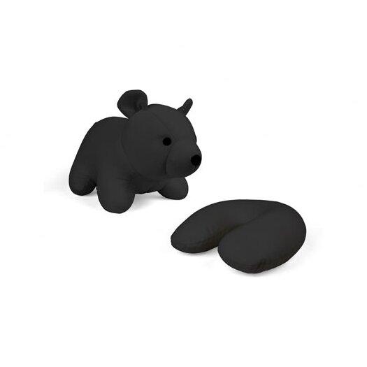 Zip and Flip Bear Head Rest Throw Pillow