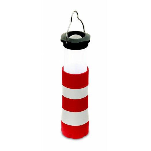 Kikkerland Mini Lighthouse Lantern and Flashlight