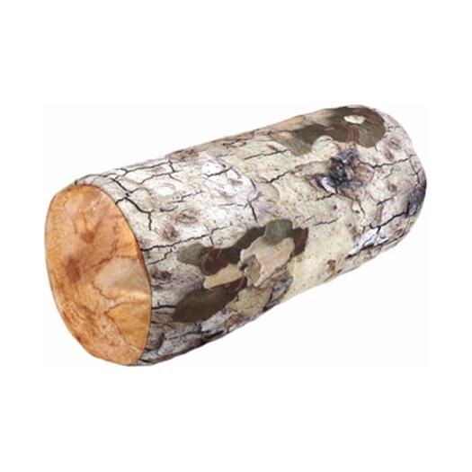 Kikkerland Log Head Rest Bolster Pillow