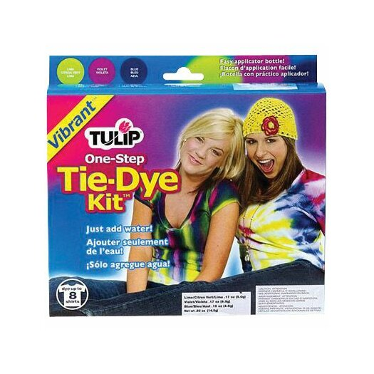 Tulip One Step Dyes Vibrant Tie Kit