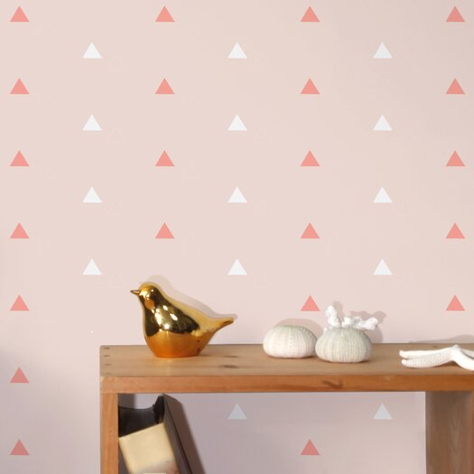 "Aimee Wilder Designs Diorama Forest 15' x 28"" Geometric Wallpaper"