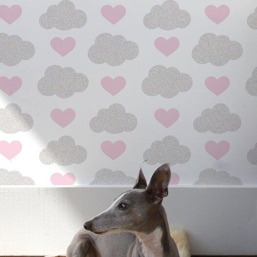Aimee Wilder Wallpaper: Aimee Wilder Designs Diorama 15' X 27'' Loveclouds