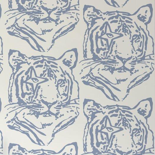 """Aimee Wilder Designs Journey 15' x 27"""" Star-Tiger Wallpaper"""