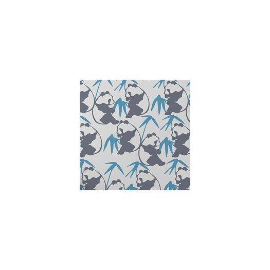 "Aimee Wilder Designs Kiki 15' x 28"" Panda Wallpaper"