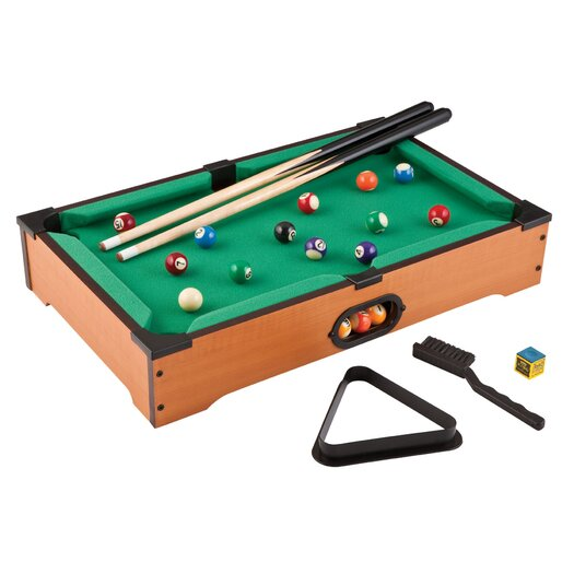 Main Street Classics 2' Table Top Pool Table & Accessories