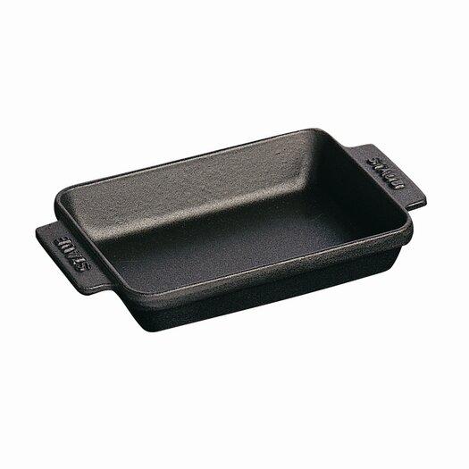 Staub Cast Iron Mini Rectangular Baking/Roasting Dish