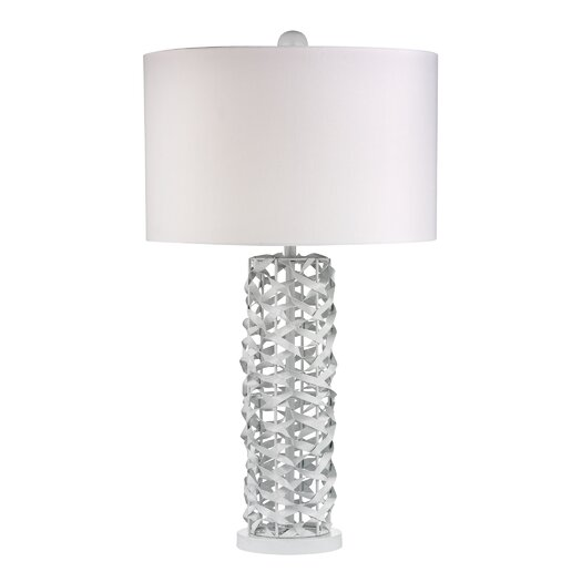 "Dimond Lighting 28"" H Table Lamp with Drum Shade"
