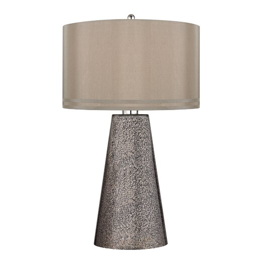 """Dimond Lighting 29.5"""" H Table Lamp with Drum Shade"""