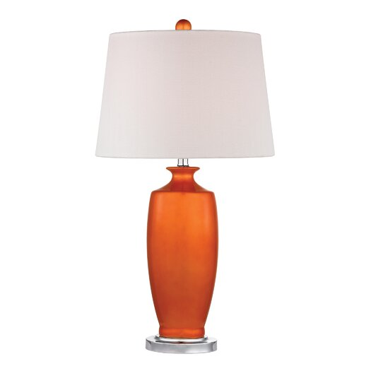 """Dimond Lighting 27"""" H Table Lamp with Empire Shade"""