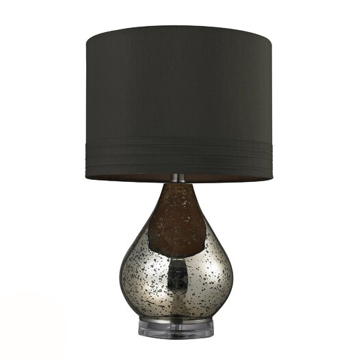 """Dimond Lighting HGTV Home 22.25"""" H Table Lamp with Drum Shade"""