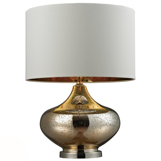 """Dimond Lighting HGTV Home 26"""" H Table Lamp with Drum Shade"""