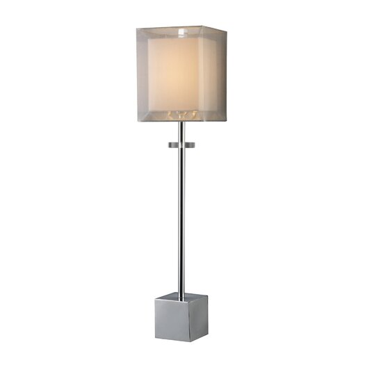 "Dimond Lighting Sligo Buffet 30"" H Table Lamp with Square Shade"