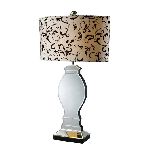 """Dimond Lighting Luverne 31"""" H Table Lamp with Drum Shade"""
