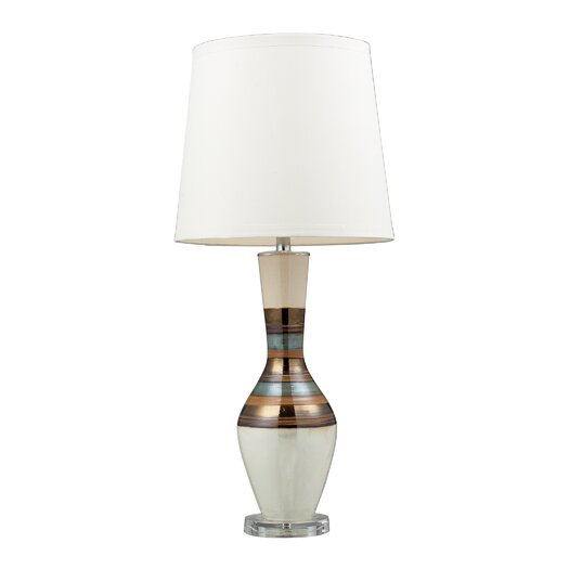 "Dimond Lighting Lamoine 33"" H Table Lamp with Empire Shade"