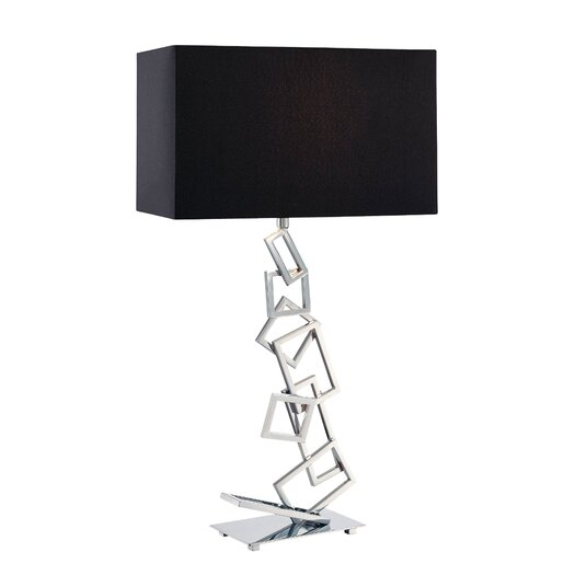 "Dimond Lighting Warren 29"" H Table Lamp with Rectangular Shade"