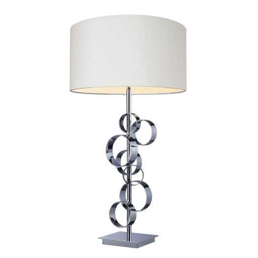 """Dimond Lighting Avon 30"""" H Table Lamp with Drum Shade"""