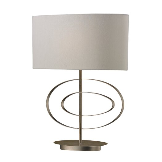 "Dimond Lighting Carson 21"" H Table Lamp with Drum Shade"