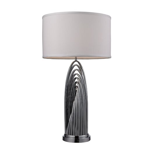 "Dimond Lighting Perryton 30"" H Table Lamp with Drum Shade"