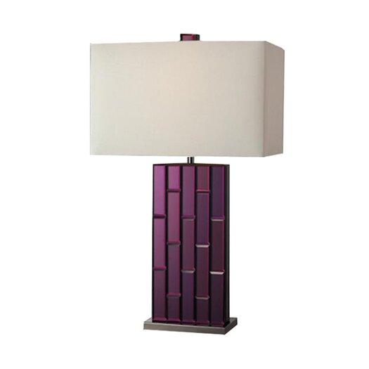 "Dimond Lighting Avalon 27"" H Table Lamp with Rectangular Shade"