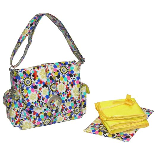 Kalencom Midi Coated Buckle Diaper Bag