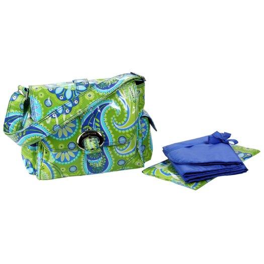 Kalencom Coated Midi Buckle Diaper Bag