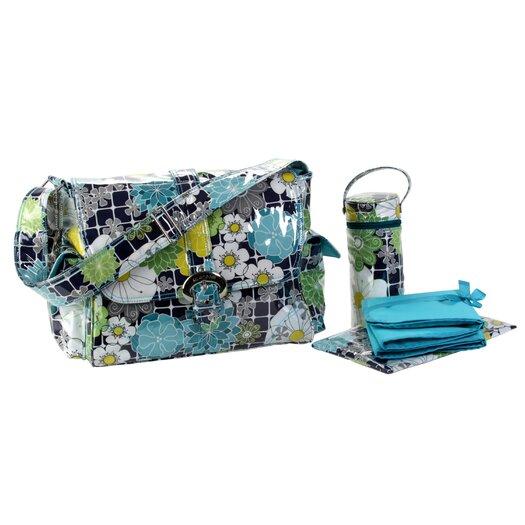 Kalencom Laminated Buckle Diaper Bag Set