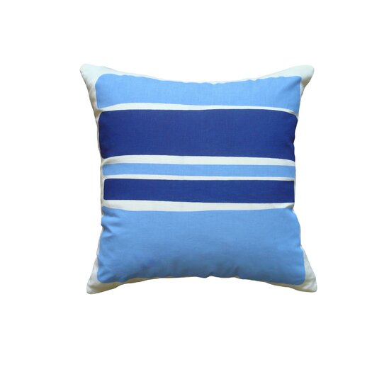 Block Linen Throw Pillow