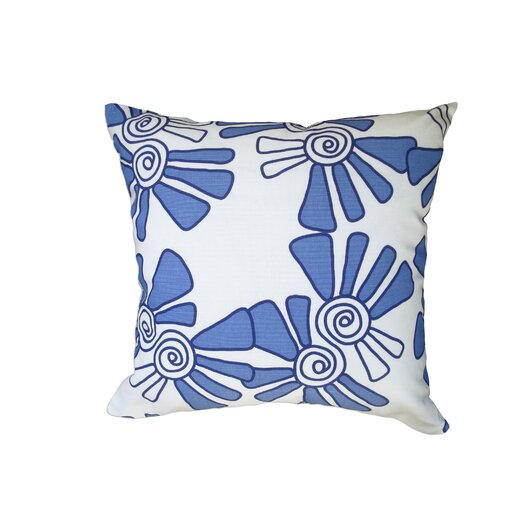 Balanced Design Hand Printed Alex Throw Pillow