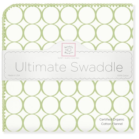 Organic Ultimate Receiving Blanket� Mod Circles