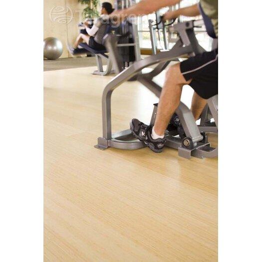 """Teragren Studio Floating Floor 7-11/16"""" Bamboo Hardwood Flooring in Natural"""