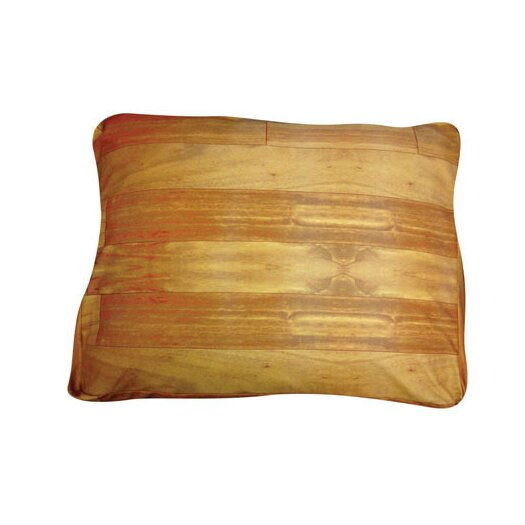 Dogzzzz Rectangle Wood Flooring Dog Pillow