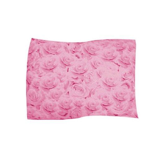 Dogzzzz Pink Rose Pet Throw