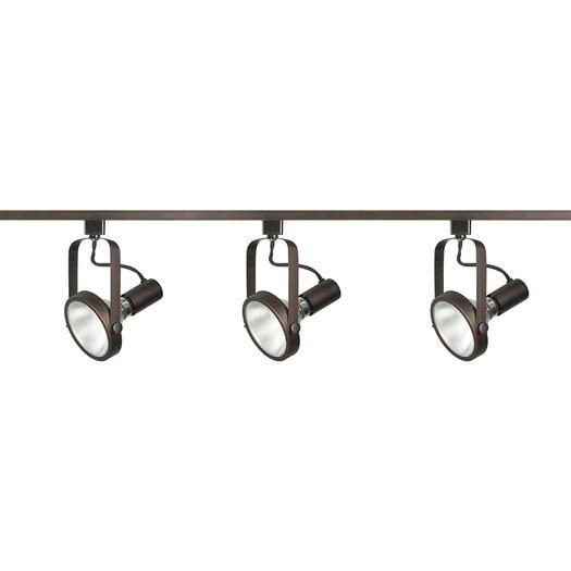 Nuvo Lighting Gimbal 3 Light Ring Full Track Lighting Kit