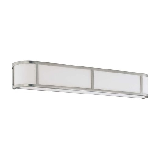 Nuvo Lighting OdeonWall Sconce in Brushed Nickel