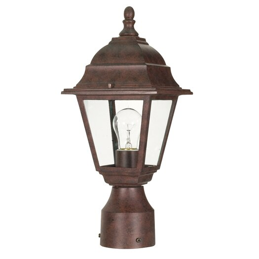 Nuvo Lighting Briton 1 Light Post Lantern