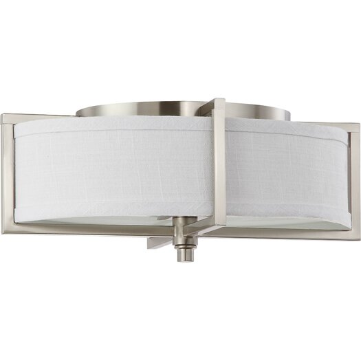 Nuvo Lighting Portia 2 Light Flush Mount