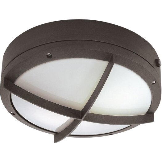 Nuvo Lighting Hudson 2 Light Outdoor Bulkhead Light