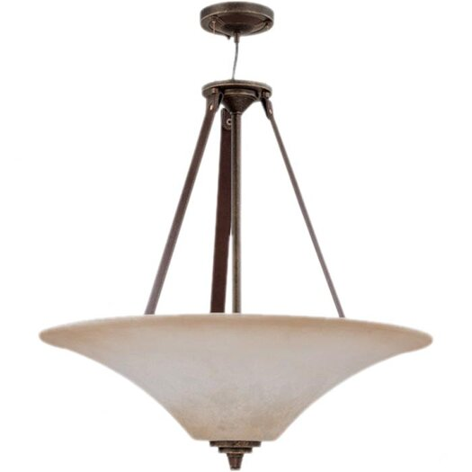 Nuvo Lighting Viceroy 4 Light Inverted Pendant